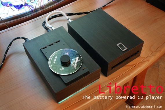 Libretto cd player