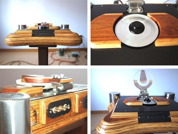 CD player by Pannawat