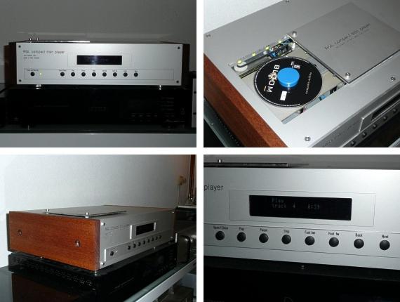 CD player by Rene Lobe