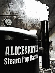 Steam Pop Machine