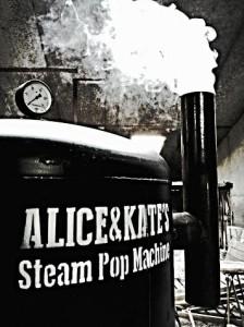 Steam Pop Machine